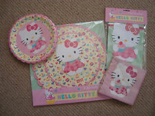 Hello Kitty partyware - choose from Plates, Napkins or  pretty party Garland