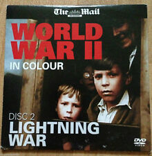 WORLD WAR II IN COLOUR -DISC 2 - LIGHTNING WAR - MAIL PROMO DVD