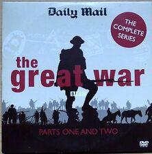 BBC Series -The Great War (1914-1918) - Parts One and Two- Daily Mail promo DVD