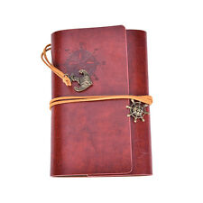 Vintage Classic Retro Leather Journal Travel Notepad Notebook Blank Diary New DS