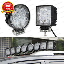 9 CREE LED 27 W LED OFF Road/Flood Light, DRL Fog Lamp for All Cars & Bikes, 12V