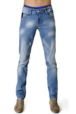 Jean homme coupe slim fit marque NO-EXCESS - Jean homme taille 48fr