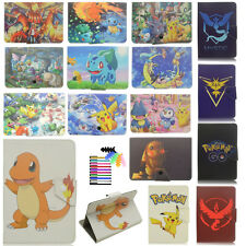 7 inch Universal Tablet Case PU Leather Stand Flip Pikachu Pokemon Cartoon Cover