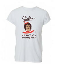 Womens Hello Lionel Richie Where's Wally Funny Humour Tshirt T-Shirt