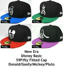 NEW ERA BASIC DISNEY 59FIFTY FITTED CAP - DONALD/GOOFY/MICKEY/PLUTO