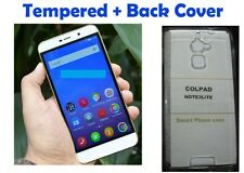~ Combo Offer ~ Temperd Glass + Soft Back Cover For Coolpad Note 3 Lite @ Rs 150