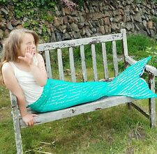 UK SWIMMABLE MERMAID TAIL COSTUME ARIEL LITTLE MERMAID CORNWALL ADD A MONOFIN