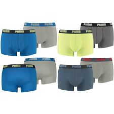 PUMA Herren Boxershorts, 4er Pack Trunks, Pants, Shorts, Unterhosen, Mode, Neu