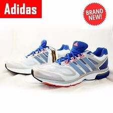 ADIDAS Mens Trainers Supernova Sequence 6 White Blue Running UK16 UK17 UK18  UK19