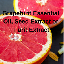 Grapefruit Essential Oil or Seed Extract Pure Natural Aromatherapy FREE Shipping