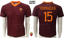 MAGLIA UFFICIALE A.S.ROMA VERMAELEN 2016-2017 OFFICIAL AS ROMA JERSEY