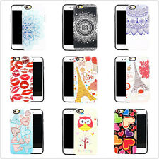 Stylish 3D Pattern Hybrid PC Case Cover TPU Shell Protector For iPhone 6 6s Plus