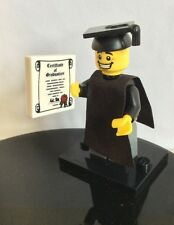 Lego Minifigures series 5 (8805) - Graduate - 100% COMPLETE WITH BASE,GENUINE