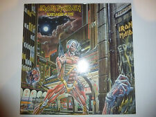 "Iron Maiden ‎– 'Somewhere In Time' 12"" vinyl album LP. 1986 UK A4/B2. VG++/EX"