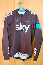 Rapha Pro Team Sky Cycling Jersey - Long Sleeved - Large - BNWT