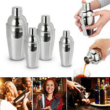 5 Piece Stainless Steel DIY Cocktail Shaker Set Bar Wine Party 250/350/550/750ml