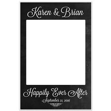 Chalkboard Polaroid Selfie Frame Photo Booth Poster