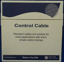 Genuine Teleflex Seastar 23C Control / Gear Cable 8ft - Threaded Ends - New ZS3