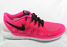 Nike Free 5.0 Women's 642199 603 Running Trainers Sneakers Fitness Pink BNIB NEW