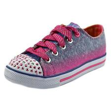 Twinkle Toes By Skechers S Lights-Shuffles-Lovable Tessile  7578