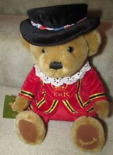 Harrods Tower of London Yeoman Teddy Bear Brand New with Tags NWT