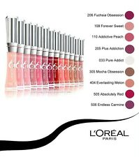 LOREAL GLAM SHINE 6H LIP GLOSS New & Sealed --Choose Your Shade---
