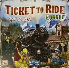 Ticket to Ride Europe. Ticket to ride