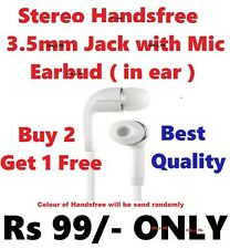 Best Quality 3.5mm Jack Stereo Earphone Handsfree Headset with Mic 3.5 mm Jack