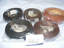 A62a. Assorted Mens Belts Size 3XL and above Choose Model from Drop Down Menu
