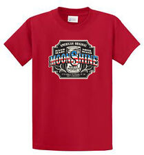 American Moonshine Mens Graphic Tee Shirts Reg to Big and Tall Size Port and Co