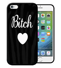 Coque iPhone et Samsung Bitch Love Coeur Heart