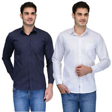 Feed Up Men's Casual / Formal Shirt / Pack Of 2