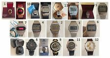 Orologio Watch HELBROS -TITUS -TIMEX - SEIKO - SECTOR - PRYNGEPS - CARAVELLE +++