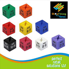 """50 X CHILDREN/KIDS CLOTHES AGE SIZE CUBES RANGE FROM """"AGE 2-3"""" TO """"AGE 10-11"""""""