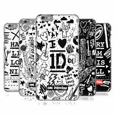 OFFICIAL ONE DIRECTION DOODLE DESIGN BACK CASE FOR APPLE iPHONE 6 PLUS / 6S PLUS