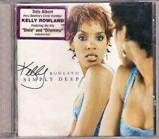 Simply Deep - Kelly Rowland New & Sealed CD Free Shipping