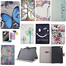 Hard Plastic+ PU Leather Wallet Flip Case for Samsung iPad Tablets Stand Cover