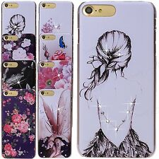 Crystal Diamond Bling Gems Hard Back Case Cover Skin For iPhone 7 Galaxy Note 7