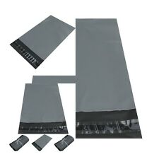 NEW GREY Strong Plastic  Packaging Postal Polythene Mailing Bag ALL Sizes UK