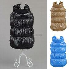 Lovely Small Dog Pet Winter Padded Coat Down Jacket Puppy Warm Cat Vest Clothes