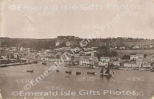 Cork Kinsale from The Old Fort vintage old b/w Irish Photo - Size Selectable