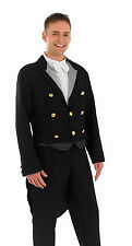 MENS VICTORIAN EDWARDIAN FOOTMAN SERVANT COSTUME FANCY DRESS BUTLER OUTFIT NEW