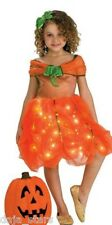 ★ Fiber Optic - Kurbis Kleid Pumpkin Prinzessin Ballkleid Kinder Kostüm 104-122