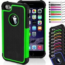 Case Cover for iPhone Models  Shock Proof Hard Back Silicone Rubber