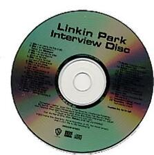 Interview Disc Linkin Park CD album (CDLP) USA promo PRO-CDR-101053