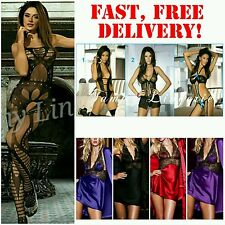 Lingerie Underwear Open Crotch Bodystockings Sexy NewLook Nightwear *ULTRA SEXY*