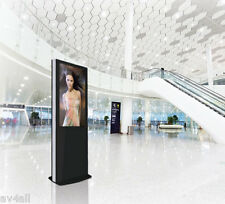 B-Tech Dual Screen Portrait Digital Signage Kiosk -  8 Variations - BT7001