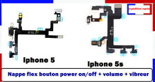 Nappe  iPhone 4 / /4s 5 / 5s /6s du bouton power on/off + volume + vibreur+micro