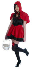 CHAPERON ROUGE FEMME ADO HALLOWEEN DÉGUISEMENT COSTUME TENUE TAILLE 34-36 NEUF
