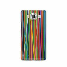 Phone Case for iPhone or Samsung Galaxy Coloured Stripes Modern Cover